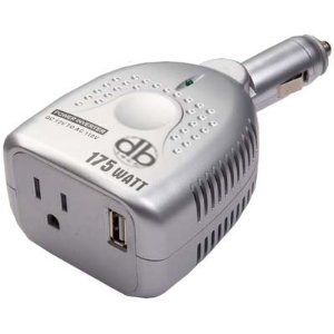 For All Those Long Car Rides Make Sure That You Have A Converter Electronics Plug It Into The Cigarette Lighter And On Other Side